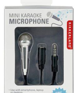 mini karaoke microfoon