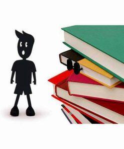 bookmark shoe boekenlegger