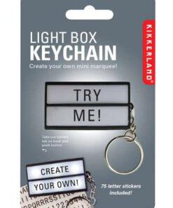 lightbox sleutelhanger