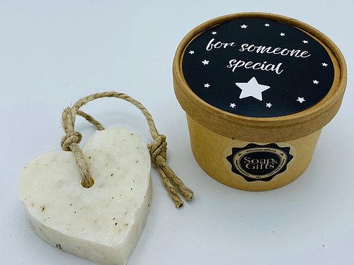 zeephart in doosje for someone special
