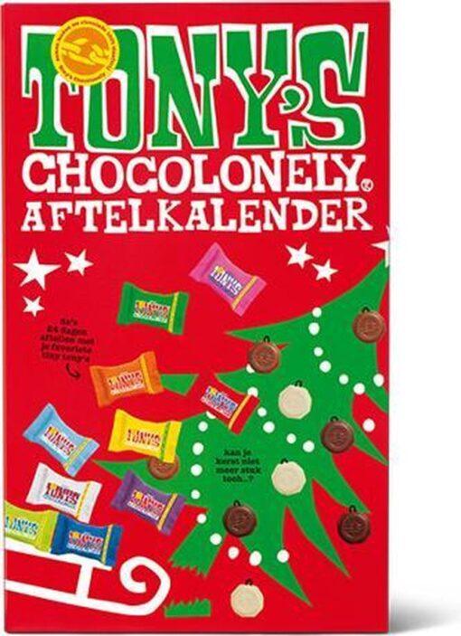 Tony chocolonely adventskalender