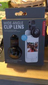 smartphone clip lense