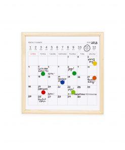 mini whiteboard kalender
